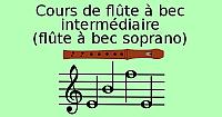 Cours de flûte à bec, intermédiaire