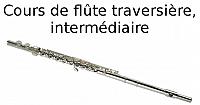 Cours de flûte traversière, intermédiaire