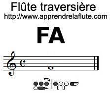 comment jouer un fa à la flûte traversière