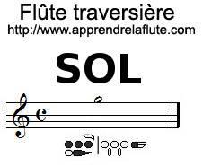 comment jouer un sol à la flûte traversière