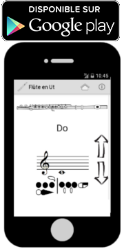 Application doigtés flûte traversière