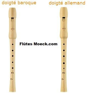 flutes Moeck baroque et allemand