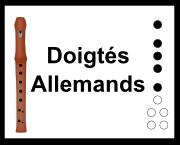 doigtés allemands