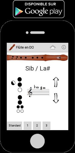 Application doigtés flûte à bec