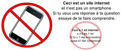 stop langage SMS